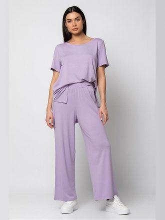 set-panteloni-me-t-shirt-lila
