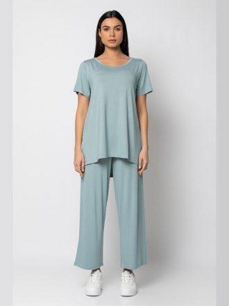 set-panteloni-me-t-shirt-menta